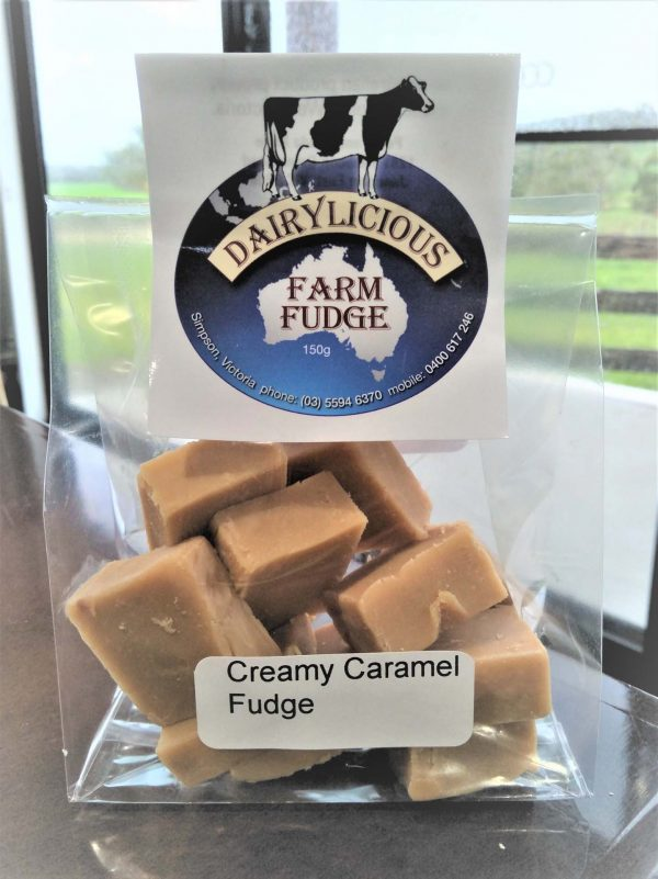 Dairylicious Farm Fudge - Creamy Caramel - Cello