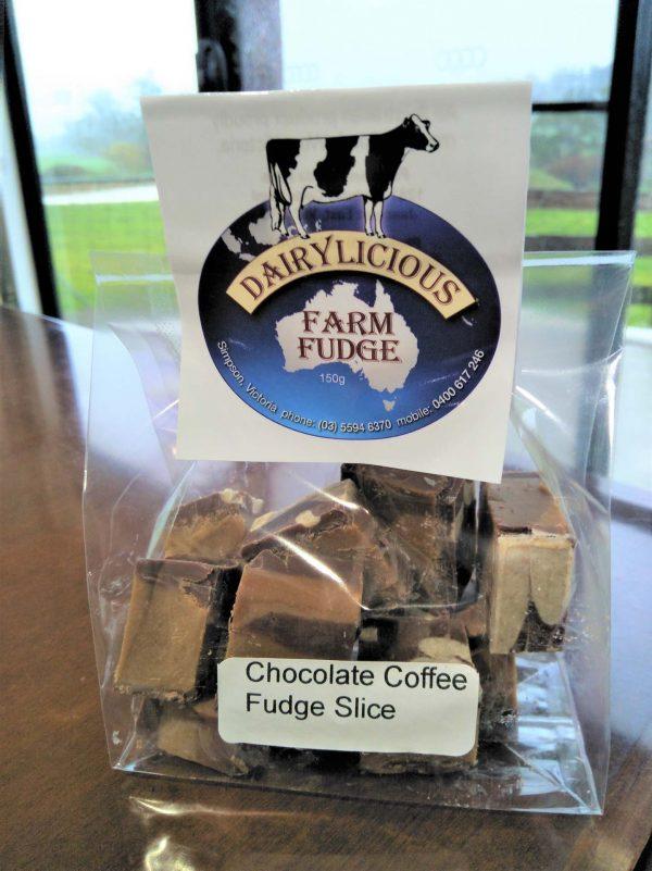 Dairylicious Farm Fudge - Chocolate Coffee - Cello