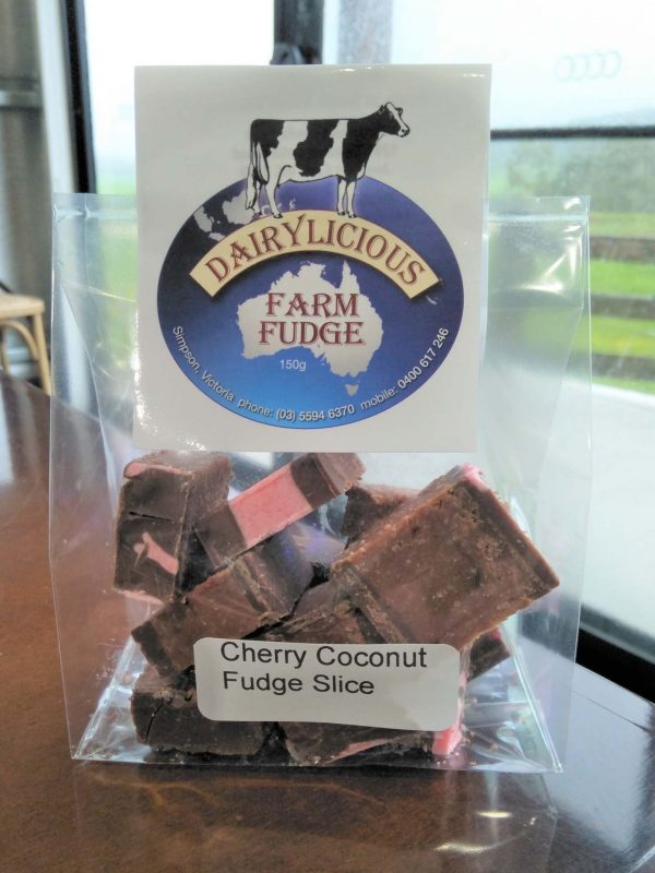 Dairylicious Farm Fudge - Cherry Coconut - Cello