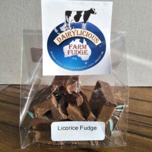Dairylicious Licorice Fudge Slice